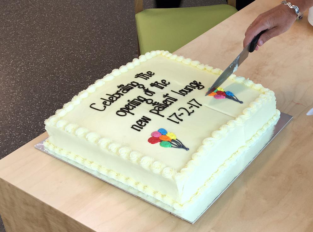 Opening Celebration Cake